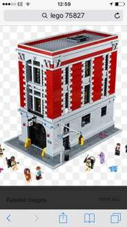 Lego Ghostbusters Firehouse £249.99 toysrus