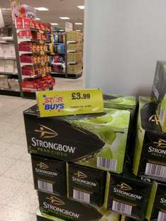 10 Cans of Pear Strongbow £3.99 at Home Bargains