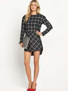 French Connection Ciao Check Dress at Ebay/Very Clearance for £19.99 + £3.95 delivery