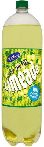 Geebee Free the Fizz Cherryade / Lemonade / Limeade / Orangeade No Added Sugar (2L) was 59p now 3 for £1.00 @ Iceland