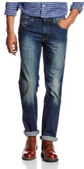 Wrangler Men's Texas Stretch Jeans From £15.63 (P&P £4.75) @ Amazon