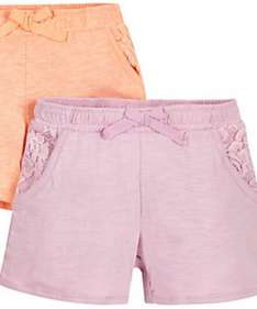 Frilly Shorts £1.80 - 2 Pack from Mothercare