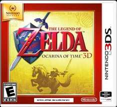 The Legend of Zelda: Ocarina of Time 3D (Nintendo Selects) £13.99 new at game