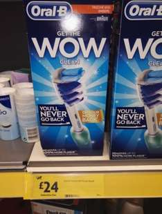 Oral B triZone 600 Electric toothbrush @ morrisons only £24