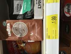 lavazza tierra fair trade ground Arabica ground coffee £2 for 250g at B&M stores instore