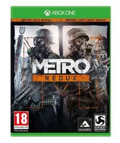 Metro Redux XBOX ONE (New copy) £11.95 delivered @ Coolshop