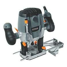 Titan 1250W Router 240V, £32.49 @ Screwfix  Deal of the day