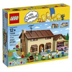 LEGO The Simpsons House (71006) Toys R Us + 3% Top Cashback. Flubit Match @ £134.99 - £149.99