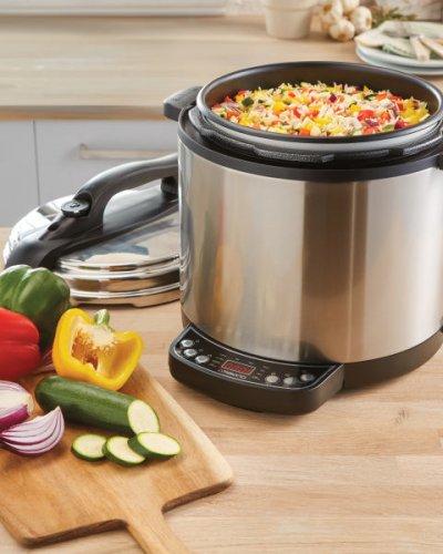 Electric Multi Cooker £39.99/slow-cooker 12.99 pre-order @ ALDI