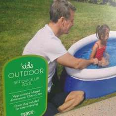 5ft quick up pool £3.75 Tesco  instore INVERURIE