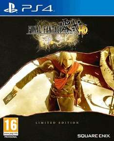Final Fantasy Type-0 HD SteelBook Limited Edition (PS4) (2 for £20) £17.99 @ Game