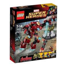 LEGO Superheroes 76031 Age of Ultron: The Hulk Buster Smash was £26.99 now £16.59 Del with code @ Smyths Toys