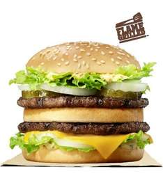 FREE BIG KING when you buy a BIG KING - on iPhone 'iOS' and 'android' Play store app BURGER KING® - £1.99