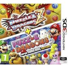 Puzzle & Dragons Z + Puzzle & Dragons: Super Mario Bros. Edition (3DS) was £14.99 now  £8.99 @ Argos