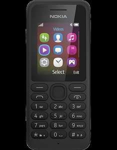 Nokia 130 Black £2.99 on O2 or Vodafone Upgrade - Carphone Warehouse