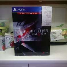 The Witcher 3 Collector's Edition PS4 £94.99 @ Game Harlow