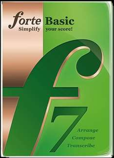 FORTE 7 Basic for FREE untill 4th September. The most intuitive music notation