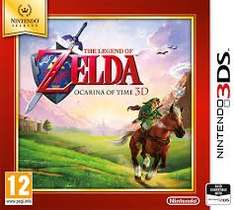 The Legend of Zelda: Ocarina of Time Nintendo 3DS selects £13.99 at Argos.co.uk.
