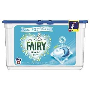 Fairy non bio washing capsules 72 pack £11.37 (Prime) / £16.12 (non Prime) @ Amazon