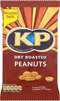 KP Dry Roasted Peanuts (270g) / KP Original Salted Peanuts (270g) was £1.99 now 2 for £3.00 @ Asda