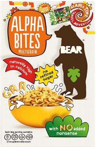 BEAR Alphabites Multigrain (375g) / BEAR Alphabites Cocoa (375g) was £2.69 now £1.34 @ Waitrose