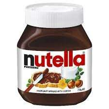 Nutella 750g £3.00 at Morrisons