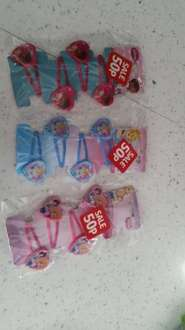 disney childrens hair clips 50p @ Poundworld