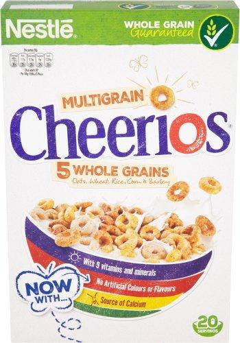 Nestle Cheerios (600g) was £2.95 now £1.47 @ Sainsbury's