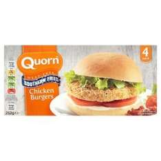 Quorn Southern Fried Burgers are meat free (Pack of 4 252g) was £2.00 now £1.00 @ Waitrose