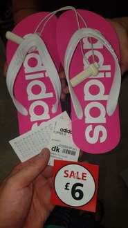 Adidas flip flops £6 @ sports direct (instore)
