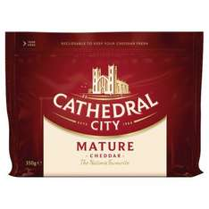 Cathedral City mature and extra mature cheese 350g £1.89 at Heron Foods