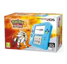 2DS Special Edition + Pokémon Sun/Moon (Pre-Installed) £89.99 at GAME