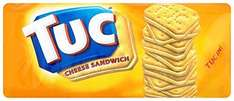 TUC Cracker and Cheese Sandwiches - 50p at Asda