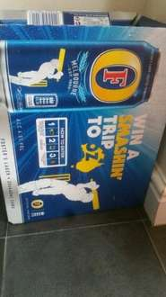 Fosters 20 pack £10 @ Tesco