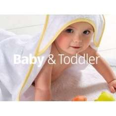 Aldi Baby & Toddler Event in store Thursday 22nd September and online the 15th September.