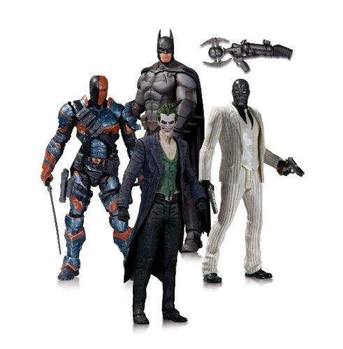DC collectibles Batman 4 pack figures £29.99 @ B&M. contains Batman,  Joker, Deathstroke and Black Mask.