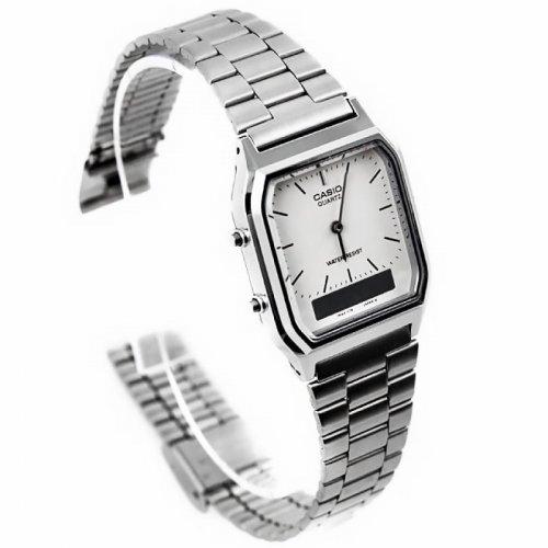 Casio AQ-230A-7DMQ Mens Combi Bracelet Watch £15.59 @ 7Dayshop