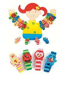 Woodyland Bracelets 72 with Holder  great for party bags £5.32  (Prime) / £10.07 (non Prime) @ Amazon