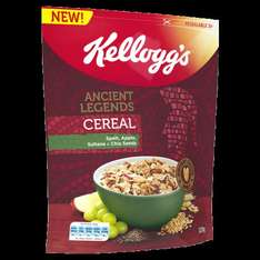 Kellogg's Ancient Legends Cereal 79p for 320g pack at Heron.