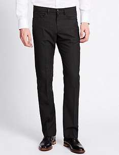 Marks and Spencer's big and tall trousers £3.99