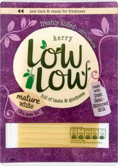 Low Low Mature Cheese Slices (Gluten Free)(160g) was £2.00 now £1.00 @ Morrisons