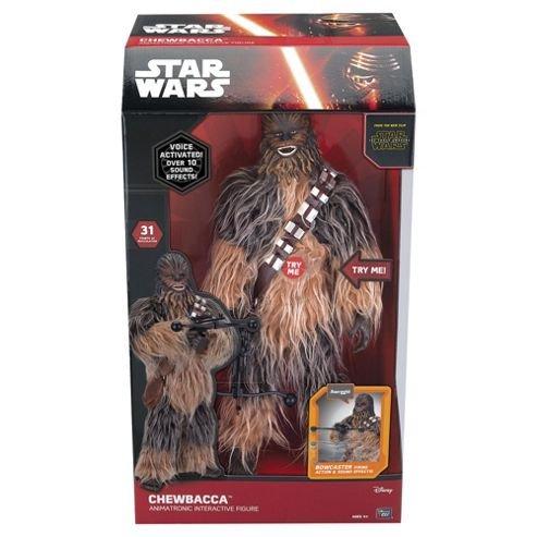 Star Wars Interactive Chewbacca / Darth Vader / Kylo Ren figure £35.49 Delivered / Stormtrooper £25.49 [Approx 20''] @ Forbidden Planet