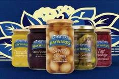 Haywards Pickle Onions (400g) / Piccallili (400g) / Mixed Pickles (400g) / Red Cabbage (400g) / Whole Gherkins (630g) only 11p each via Checkoutsmart & Clicksnap Apps - £1 @ Asda...