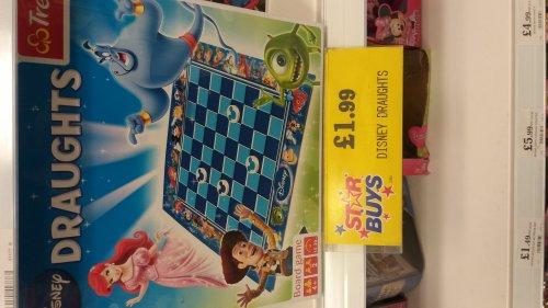 Disney draughts £1.99 @ Home bargains