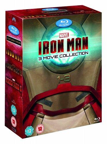 Iron Man 1-3 Complete Collection [Blu-ray] £16.99 (Prime) £18.98 (Non Prime) @ amazon