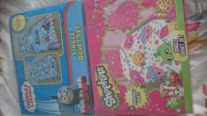 thomas & friends and shopkins reversable bedding instore tesco £10 each