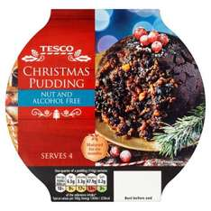 Tesco Nut and Alcohol Free Christmas Pudding (454g) it's £2.00 but if you buy two they cost a total of now £3.00 @ Tesco