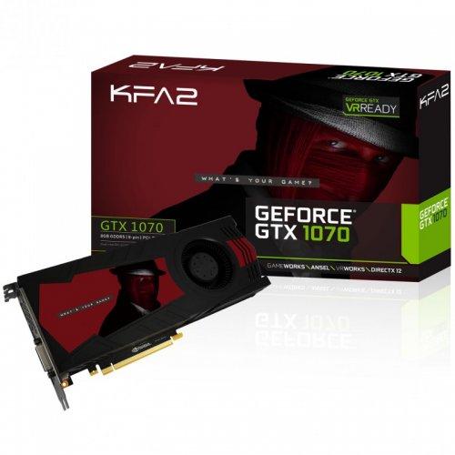 KFA2 GeForce GTX 1070 8192MB GDDR5 PCI-Express Graphics Card - £349.99 incl. P&P @ Overclockers.co.uk