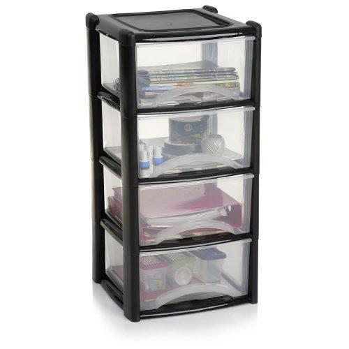 4 Drawer Storage Unit [H-84 x W-39 x D-38cms] was £15.00 now £10.00 @ Wilko