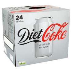 Diet Coke, 24 cans for £3 in store at Tesco Hove Denmark Villas